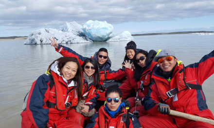 Iceberg safari on Fjallsarlon